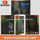 "Custom Printing 5"" LCD Player Video Brochure Card"