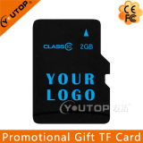 Color Logo Promotional Gift Micro SD TF Memory Card 2GB