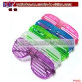 Party Supplies LED Shutter Style Glasses Plastic Sunglasses (P4069)