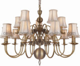 Copper Chandelier with Brass Finish (SL2078-10+5)