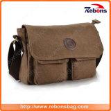 OEM ODM Briefcase Crossbody Neoprene Genuine Leather Laptop Shoulder Bag with Pockets