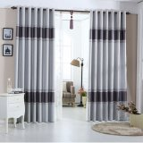 Classical Polyester Embossing Blackout Window Curtain (01F0006)