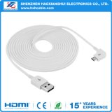 Newest Round Wire Right Angle 90 Degree Micro USB Cable
