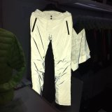 100% Polyester Reflective Fabric for Outwear Sportswear