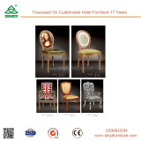 Star Hotel Luxury Restaurant Modern Wood Chairs Upholstered Chairs