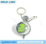 Custom Zinc Alloy Souvenir Key Chain Promotion Keyring