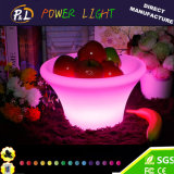 Bar Home Fruit Tray with Cordless LED Lighting