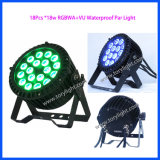 Waterproof IP65 LED Parcan 18PCS*18W Ceiling/DJ Lighting