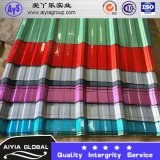 Ral9003 PPGL Color Coated Corrugated Roof Sheet T Tile