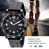 High Quality Fashion Sport Watch Men Silicone Material Waterproof Watch72084