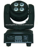 Double Sides 4*10W Double Faces Mini LED Beam Wash Moving Head