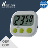 Small Digital Countdown Kitchen Timer with Magnet and Big Digits