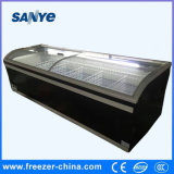 Best Selling Commercial Supermarket Island Refrigerator with Ce Certification Wholesale