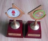 Custom Wooden and Metall Souvenir Trophy