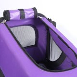 Fashion Foldable Purple Fabric Pet Travel House