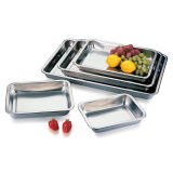 Stainless Steel Square Tray Made in China
