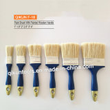 F-18 Painted Wooden Handle White Bristle Paint Brush