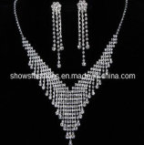 Bridal Jewelry Sets/Shiny Crystal Fashion Jewelry Sets/ Necklace and Earrings Sets (XJW12222)