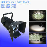 Manual Zoom 150W Warm White / Cool White LED Studio Fresnel Spot Light