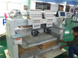 2 Heads Computerized T-Shirt Cap Embroidery Machine with Factory Price in China