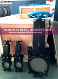 Knife Gate Valve with ISO Pad