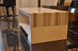 Wholesale Straight Veins White Marble Table Kitchen Furniture
