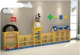 Kids Cabinet Daycare Center Furniture Kids Toys Storage Cabinet -Sf-07W for Kindergarten