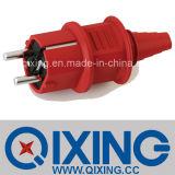16A 230V 2p Industrial Schuko Plug (QX10839)
