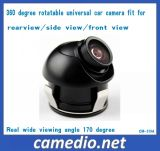 Mini Size 360 Degree Rotatable Car Side/Front /Rear View Camera CMOS/CCD with Wide Viewing Angle