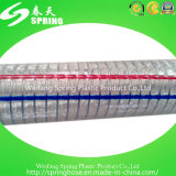 PVC Plastic Reinforced Spiral Steel Wire Pipe Industrial Discharge Irrigation Hose
