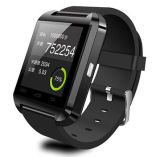 U8 Smart Watch with High Quality Speakerphone, Readable in Daylight.