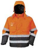 Half Zipper Reflective Safety Sweat Shirt Safety Wear with Logo