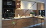 Kitchen Cabinet with UV High Glossy Color Painting (ZS-139)