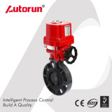Explosion Proof Electric Plastic PVC Butterfly Valve
