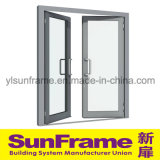 Aluminium Double Acting Spring Door for Mansion
