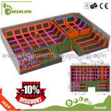 Wholesale Fitness Indoor Trampoline with Basketball Hoop