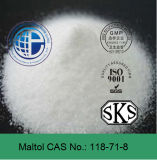 Food Grade Flavour Enhancers and Fragrances CAS 118-71-8 Maltol