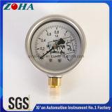 Mini Pressure Indicator Ss Primary Color Case Brass Internal
