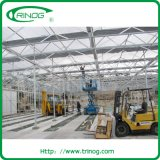 Advanced glass greenhouse with climate control system