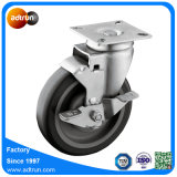 5 Inch PU Swivel Caster Wheel with Brake