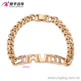 73980- Imitation Xuping Jewelry Name Bracelets