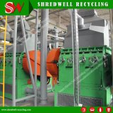 Waste Rubber Tire Grinder with Scrap Tyre Recycling Line