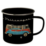 Kitchen Appliance Enamelware Coffee Cup Carbon Steel with Ss Rim