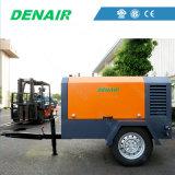 Cheap Price 13 Bar Diesel Portable Rotary Screw Air Compressor