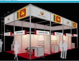 Trade Show   Portable Aluminum   Exhibition Booth 3X5