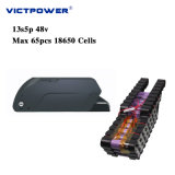 Victpower Battery Pack 48V 13.6ah Lithium Ion Battery 13s5p 650wh