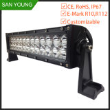 72W Marine LED Light Bar for Boat SUV Jeep Truck Driving