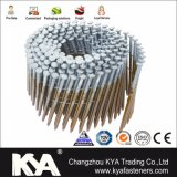 15 Degree Hot DIP Galvanized Smooth Shank Wire Collated Coil Nails