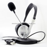 Wholesale Silent Disco OEM USB Call Center Headsets