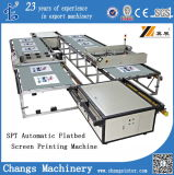 Spt60190 Automatic Flatbedclothes/Shirt/T-Shirt/Wood/Glass/Non-Woven/Ceramic/Jean/Leather/Shoes/Plastic Screen Printer/Printing Equipment for Sale